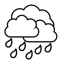 94 rain coloring pages for preschoolers the with an