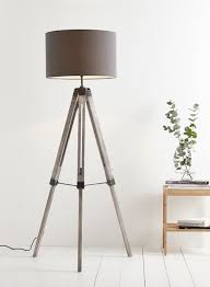 Brushed Silver Floor Lamp Decor Floor Lamps Tripod Antique Floor Lamp Tripod Lamp