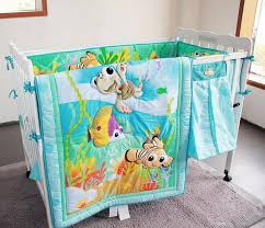 finding nemo bedroom set promotion 6pcs duvet crib baby bedding set finding nemo baby
