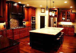 Dark Cherry Kitchen Cabinets How To Clean Cherry Kitchen Cabinets Ourcavalcade Design