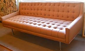 Leather Tufted Sofa by Furniture Fascinating Mid Century Sofas For Comfy Home Furniture