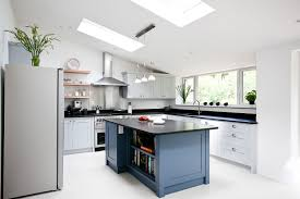 blue kitchens with white cabinets kitchen backsplash ideas white cabinets brown countertop