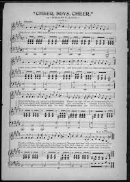 Confederate Flag Sheets Civil War Sheet Music Collection Library Of Congress