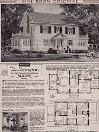 colonial style house plans tour a sears roebuck and co mail order craftsman home