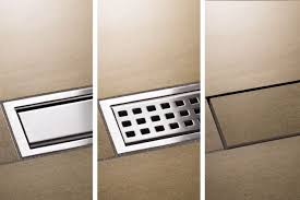 Pool Deck Drain With Removable Tops by Schluter Kerdi Line Drains Shower System Schluter Com