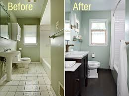 before and after bathroom remodels on a budget hgtv noticeable