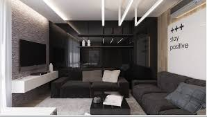 Black Living Room by Fascinating 40 Black Living Room Interior Decorating Design Of