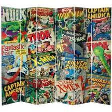 awesome comic book wall decor thor iron man and batman diy