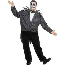 Jack Pumpkin King Halloween Costume Nightmare Christmas Jack Skellington Halloween