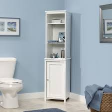 stylish white bathroom linen cabinets bathroom linen tower benevola