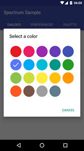 the android arsenal color pickers a categorized directory of - Android Color Picker