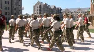 virginia tech corps of cadets welcome new home