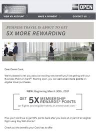 Business Platinum Card Amex Debrian Travels American Express Business Platinum Card Enhancements
