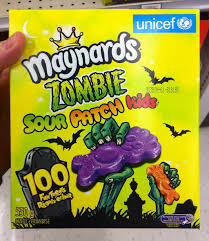 Sour Patch Kid Costume Halloween Cc Canada Maynards Zombie Sour Patch Kids 100 Count Halloween Box