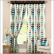 Brown And Green Curtains Designs Blue Black White Living Room Polyvore Inside Teal And Black