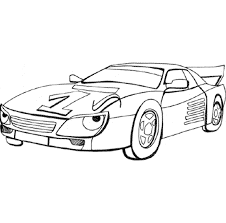 sports car coloring page kidscolouringpages orgprint u0026 download printable cars coloring