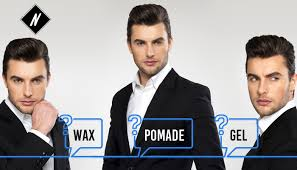 Pomade Wax wax pomade or gel what should you use