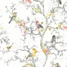 Curtains Birds Theme I Need Help To Match Bedding And Curtains With Wallpaper