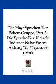 indianer spr che 9781160868976 die sprachen der pokom gruppe part 2 die