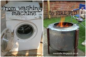 Washing Machine Firepit Awesome Washing Machine Drum Pit Turn A Washing Machine Drum