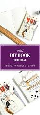mini diy book tutorial the postman u0027s knock