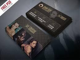 Photographer Business Card Template Psd fashion photographer business card template free psd psdfreebies