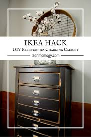 ikea charging station hack ikea hack diy electronics charging cabinet u2022 techmomogy