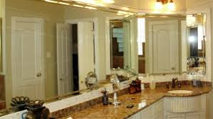 bathroom mirror installation u0026 replacement houston the woodlands