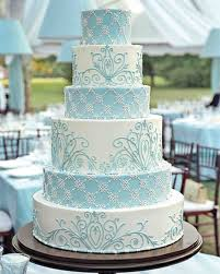 wedding wishes cake blue and purple wedding cakes martha stewart weddings