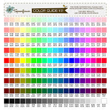 color guide swatch 171 colors u0026 hex codes spoonflower