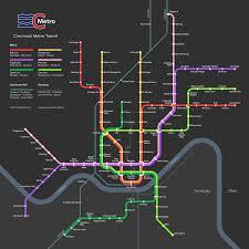 Map Cincinnati Cincinnati Metro Transit Imagined U2013 Gateway Streets