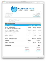 Excel Invoice Template Mac Invoice Template Free Mac Design For Excel 2016 1275 X Ptasso