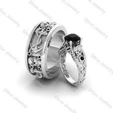 skull wedding ring sets wedding rings skull wedding ring sets skull wedding ring sets