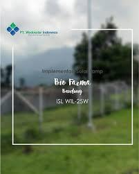 Bio Bandung bio farma bandung isl wil 25w wedosolarindonesia alternative