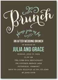 day after wedding brunch invitations hot trend post wedding day brunch aisle files
