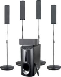 Buy Philips Htd5540 94 5 1 Dvd Home Theatre System Online At Best - f d f5090 5 1 channel speakers canopies the online store features