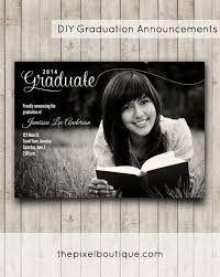 how to make graduation announcements diy graduation announcements make this design for free