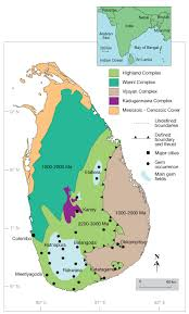 Production Map Gem Quality Mining Countries Sri Lanka From Mine To Market Part 1 Research