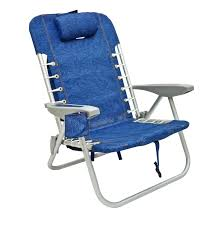 Gci Outdoor Pico Arm Chair Imprinted Personalized Rio 4 Position Deluxe Lace Up Aluminum
