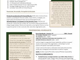 very attractive award winning resumes 11 best financial resume