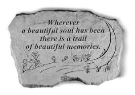 sympathy gift stone