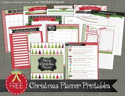 free christmas printables christmas planner printables from