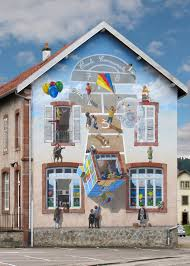 3d illusion murals turn french streets into outdoor art galleries 3d illusion murals turn french streets into outdoor art galleries