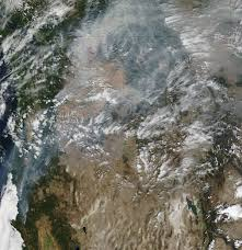 Washington State Wildfire Air Quality by Blanket Of Smoke From Northern California Fires Nasa