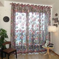 compare prices on flower curtains online shopping buy low price