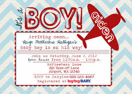 airplane baby shower invitations reduxsquad com