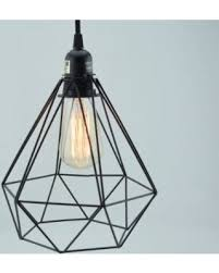 Vintage Light Bulb Pendant Great Deal On Geometric Vintage Edison Light Bulb Cage For