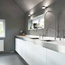 Modern Kitchen Faucets Stainless Steel Modern Kitchen Faucets Offering Functionality And Impressive Look