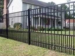 allure aluminum worthington 4 ft x 6 ft black aluminum 3 rail 8 best fencing images on pinterest backyard ideas gardens and