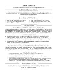 Sample Resume For Finance Finance Manager Resume Format Resume For Your Job Application